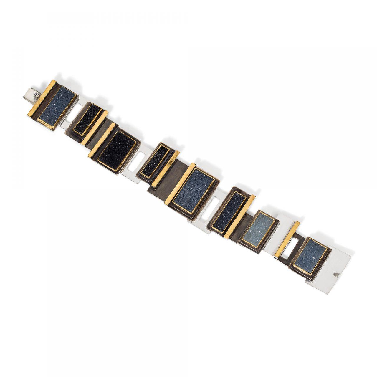 Bracelet with Druzies