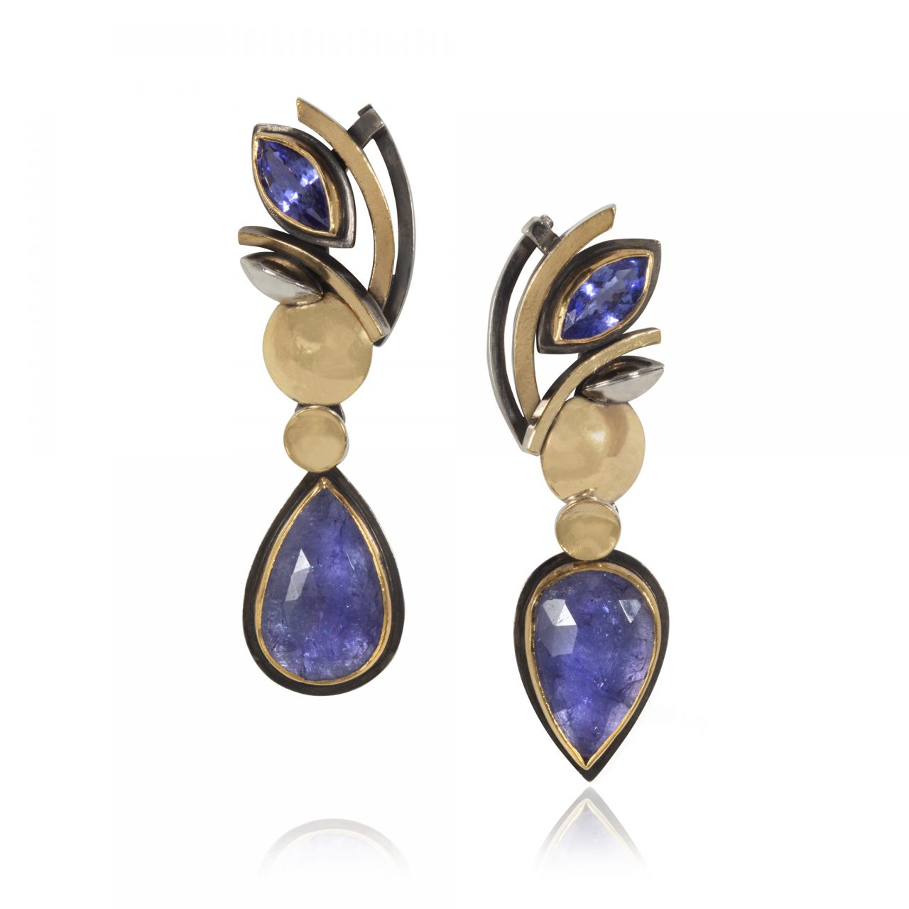 Drop Tanzanite Earrings